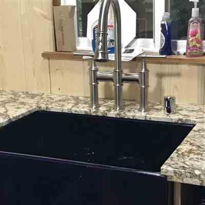 Nancy verified customer review of Reversible Series 27 Farmhaus Fireclay Sink with a Plain Front Apron