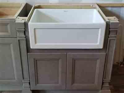 Renu verified customer review of Reversible Series 27 Farmhaus Fireclay Sink with a Plain Front Apron