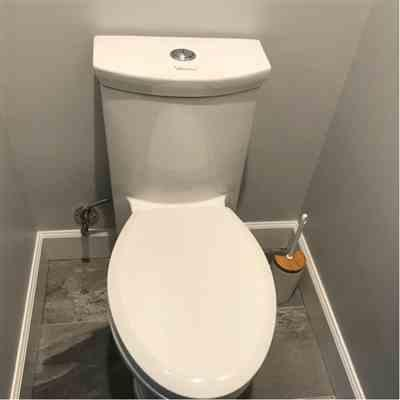 Kathryn verified customer review of Magic Flush Eco-Friendly One Piece Toilet with a Siphonic Action Dual Flush System, Elongated Bowl 1.3/0.9 GPF