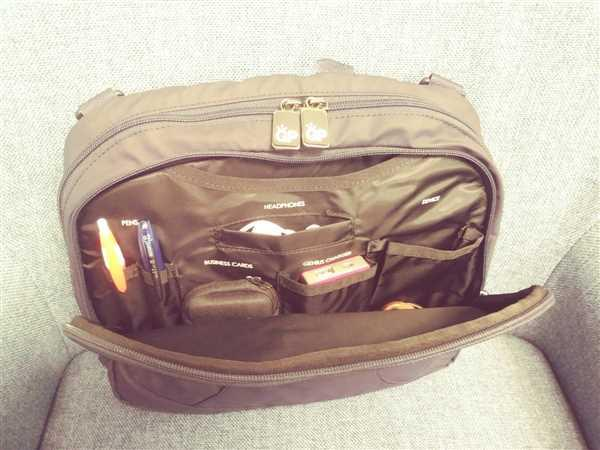 Joan French verified customer review of HIGH ALTITUDE FLIGHT BAG