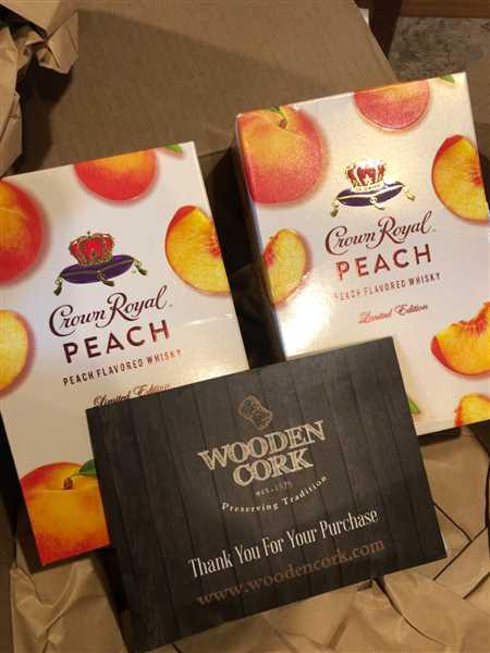 Kelli Travis verified customer review of Crown Royal Peach Whisky