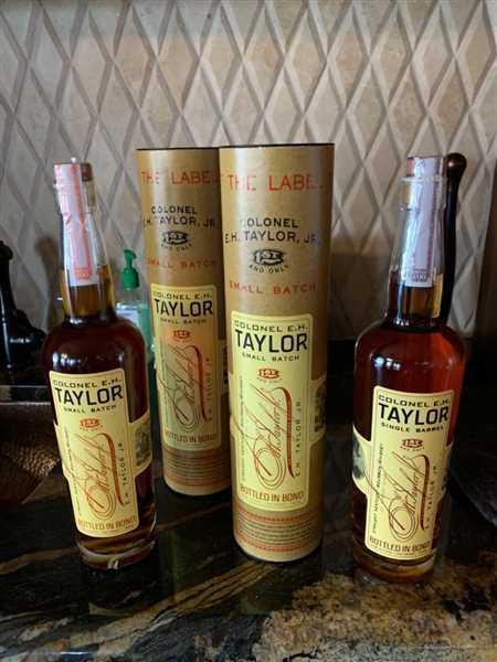 Daniel Shepherd verified customer review of Colonel E.H. Taylor Small Batch
