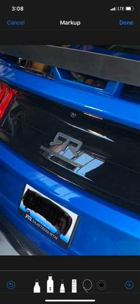 Brad Lovell verified customer review of Mustang RTR License Plate Frame