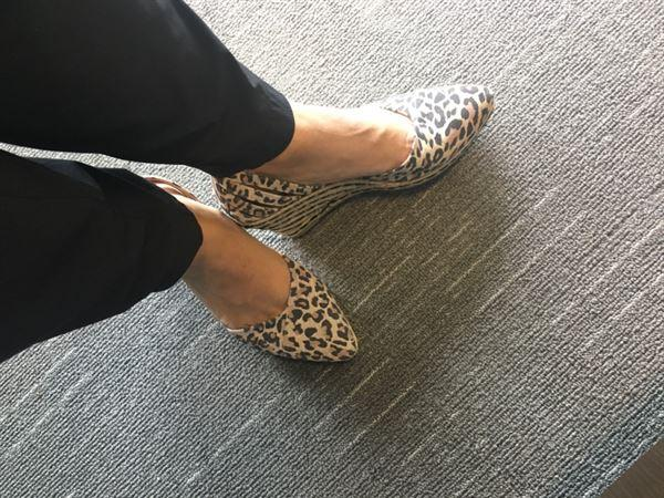 VISCATA Ullastret Suede Wedges - Leopard Review