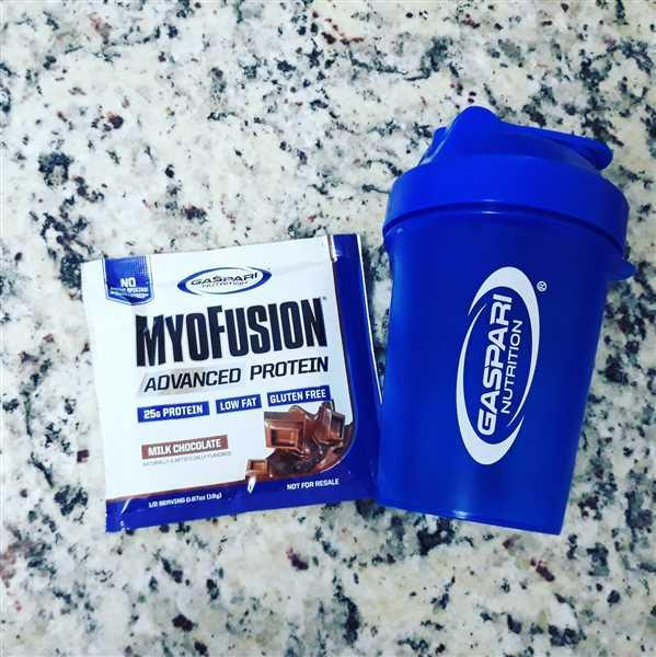 Gaspari Nutrition Gaspari Blue - 600ml lite Smart Shaker Review
