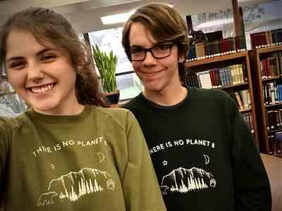 Kaitlyn S. verified customer review of There Is No Planet B - Organic Crew Sweatshirt