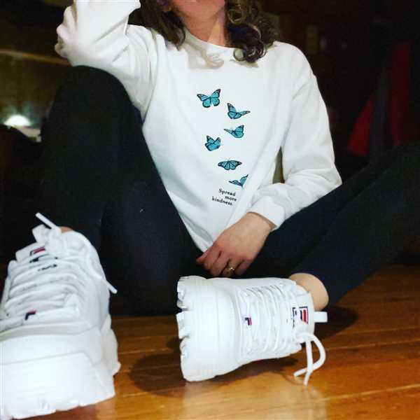 MOLLY K. verified customer review of Spread More Kindness. Colored - Crew Sweatshirt