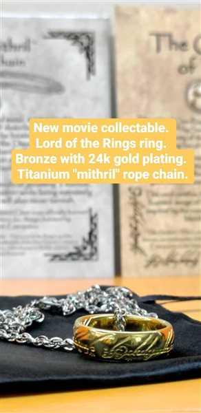 Matthew Grammer verified customer review of The ONE RING™ Necklace - GOLLUM™  Gold