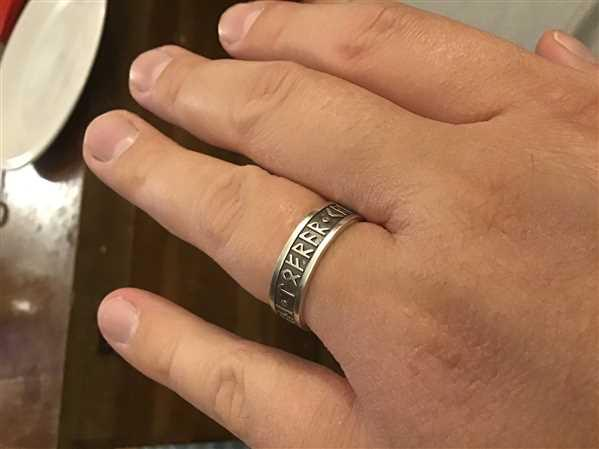 Badali Jewelry Luck - Magic - Power Furthark Rune Ring Review