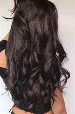 Hairlaya Darkest Brown (#2) Hand-Tied Wefts Hair Extensions Double Drawn Review