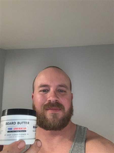 William Storm verified customer review of The American Beard Butter