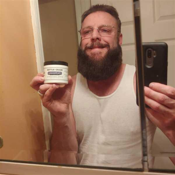 James Rogers verified customer review of The Executive Beard Butter