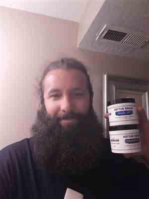 Nathan R. verified customer review of The Executive Beard Butter