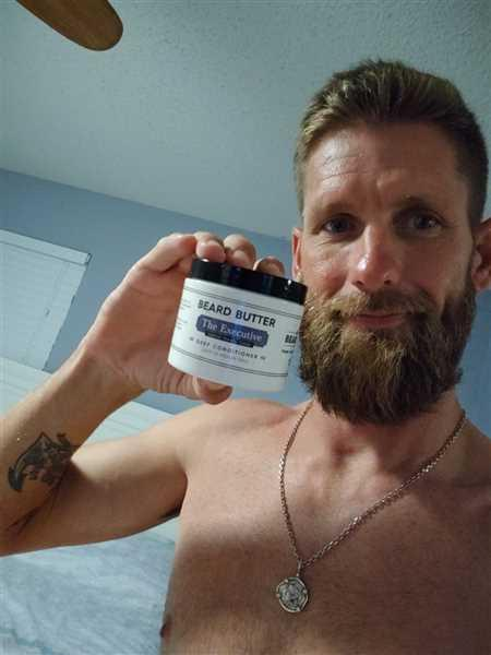 William Blalock verified customer review of The Executive Beard Butter