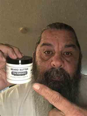 Salvadore A. verified customer review of The Executive Beard Butter