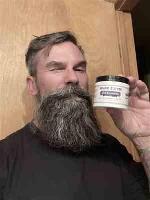 Jason G. verified customer review of The Executive Beard Butter