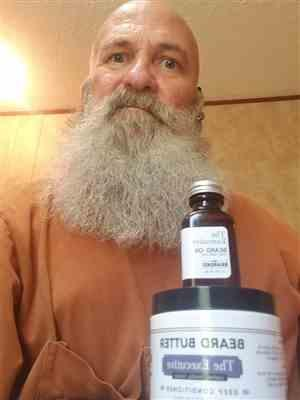 Mickey L. verified customer review of The Executive Beard Oil