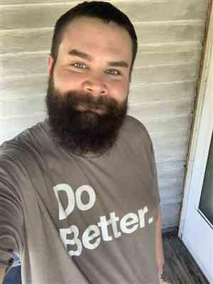 James M. verified customer review of Do Better Tee - Warm Grey