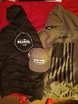 Live Bearded Lifestyle Values Hoodie - Black Camo - Medium Weight Review