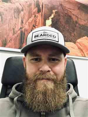 Joshua P. verified customer review of Heather Grey with White Patch Trucker Hat