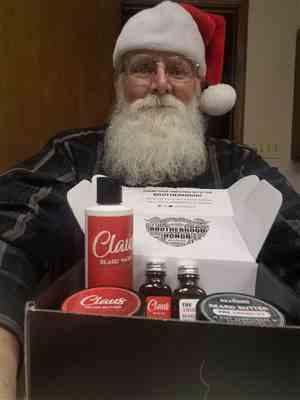 Jerry H. verified customer review of True Beardsman Beard Kit