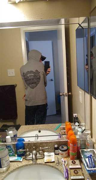 Christopher Scopa verified customer review of Beard Cloud Hoodie - Heather Grey