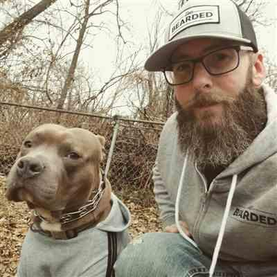 Jeremy K. verified customer review of Beard Cloud Hoodie - Heather Grey