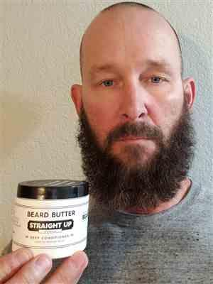 Duane G. verified customer review of Straight Up Beard Butter