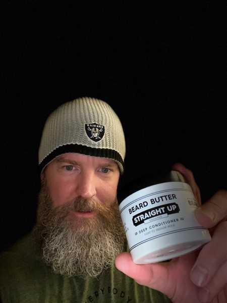 jim campbell verified customer review of Straight Up Beard Butter