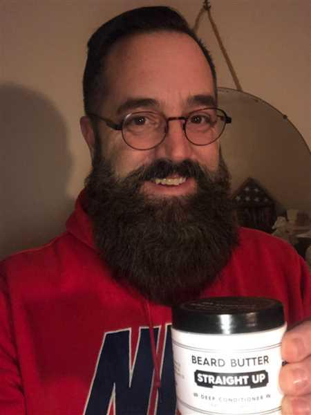Kevin Steinbacher verified customer review of Straight Up Beard Butter