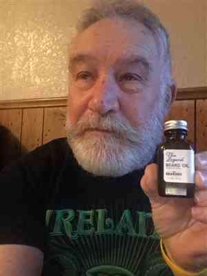Jim I. verified customer review of The Legend Beard Oil