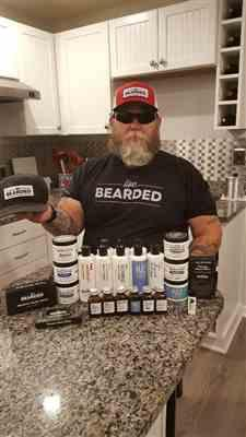 Lin S. verified customer review of The Legend Beard Oil