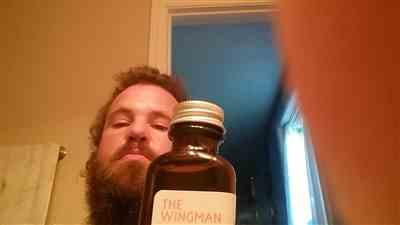 Christopher B. verified customer review of The Wingman Beard Oil