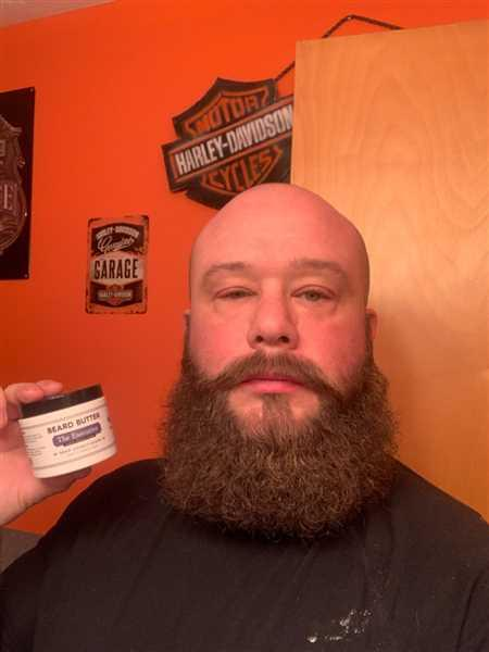 Joshua Beere verified customer review of Mustache Wax