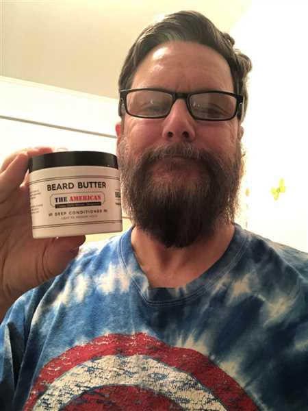 Thomas S York Jr verified customer review of Mustache Wax