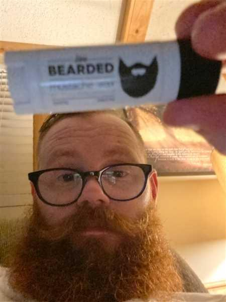 Derrick Silvers verified customer review of Mustache Wax