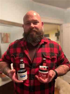 Randy s. verified customer review of Mustache Wax