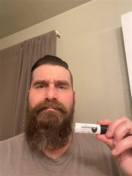 Nicholas Swanson verified customer review of Mustache Wax
