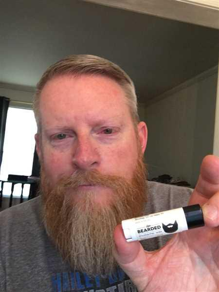 James Browning verified customer review of Mustache Wax