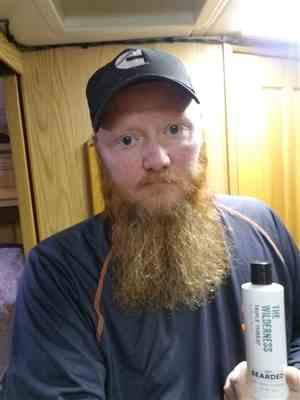 Doug T. verified customer review of The Wilderness Beard Wash