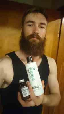 Stiaan R. verified customer review of The Wilderness Beard Wash