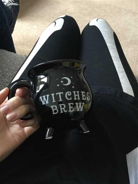 Gemma Walker verified customer review of Gothic Gifts Witches Brew Cauldron Mug