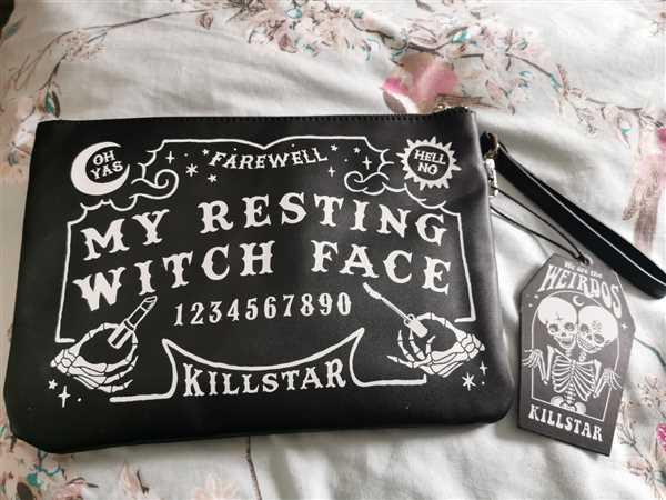Kate's Clothing Killstar Witch Face Makeup Bag Review