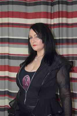 Rachel Palmer verified customer review of Necessary Evil Lucina Mesh and Leatherette Jacket