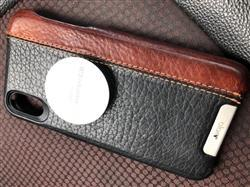 Hoang N. verified customer review of Grip LP iPhone X / iPhone Xs leather case