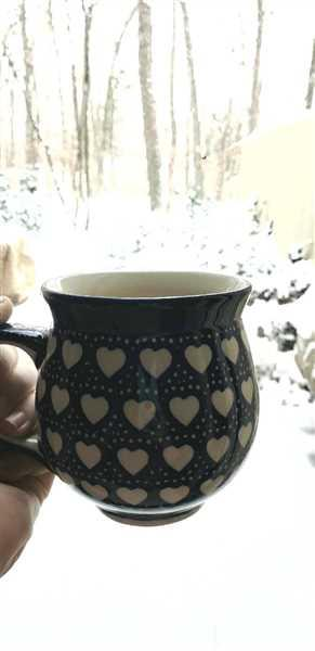 Elisabeth S. verified customer review of Large Belly Mug (Bunny Love)