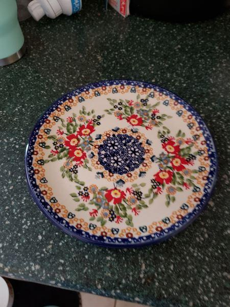 The Polish Pottery Outlet 7.25 Dessert Plate (Poppy Persuasion) Review