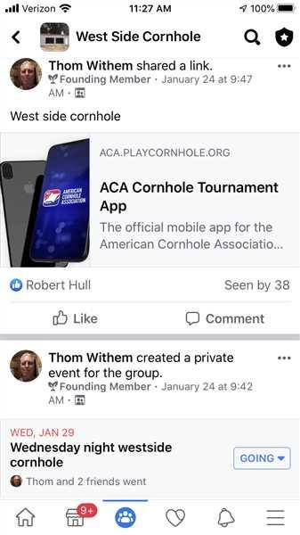 Thom W. verified customer review of Cornhole Tournament QR LABELS