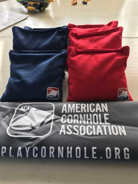 Olivia Dausy verified customer review of Red All Weather Cornhole Bags