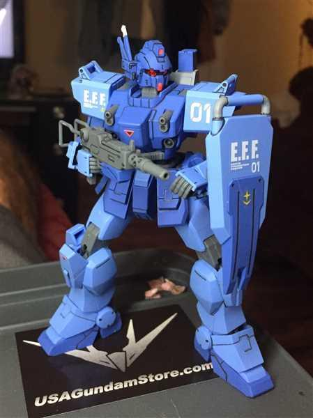 USA Gundam Store HGUC 1/144 Blue Destiny Unit 1 Exam Review